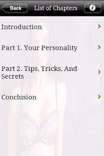 Be Yourself Seduction - screenshot thumbnail