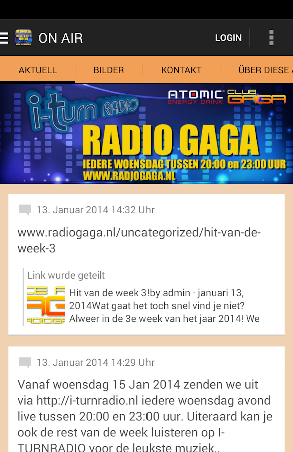 Danceradio Gaga - screenshot