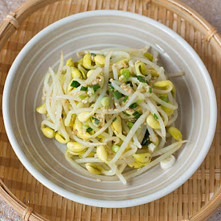 Korean Soya Bean Sprout Salad (Kongnamul Muchim)