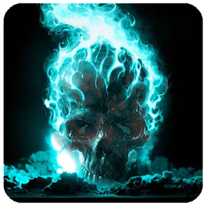 App Skull Live Wallpaper APK