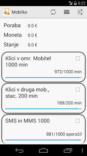 Mobilko poraba