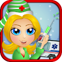 Ambulance Christmas EMT Doctor icon