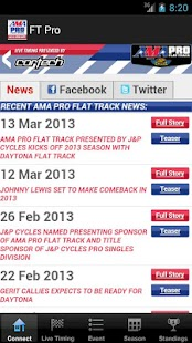 AMA Pro Flat Track - screenshot thumbnail