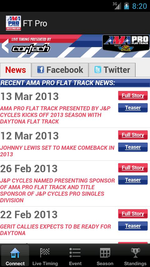 AMA Pro Flat Track - screenshot
