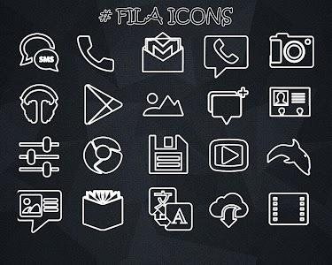 FILA ICONS APEX/NOVA/ADW/GO v2.0.0