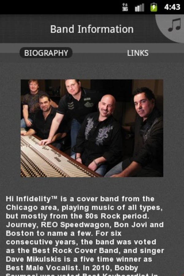 Hi Infidelity - screenshot