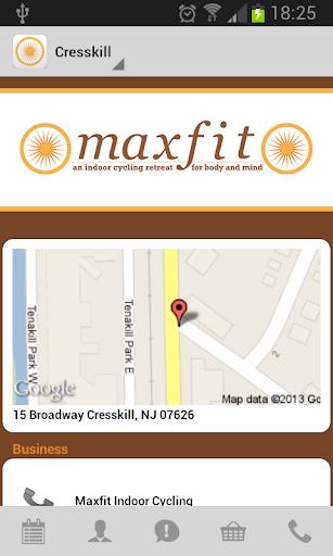 【免費健康App】Maxfit Indoor Cycling Retreat-APP點子