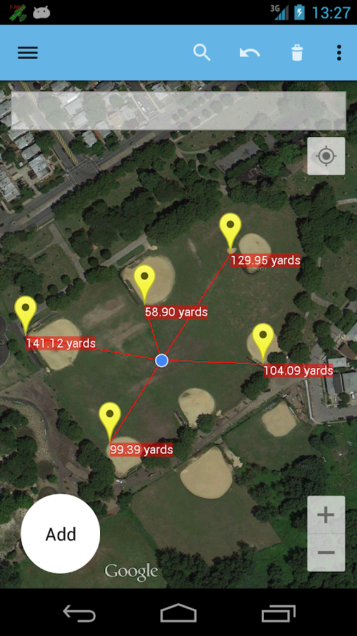 AndMeasure (Area & Distance)- screenshot