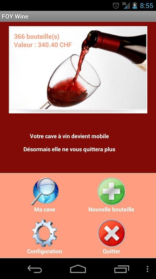 Cave à vin - FOYWine - screenshot