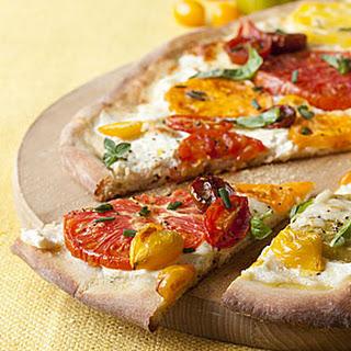 Ricotta Cheese And Tomato Pizza Recipes.