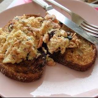 Smoked Salmon Breakfast Scramble Recipe