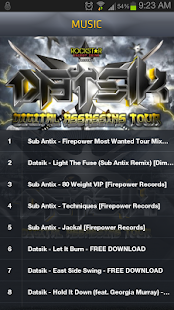 DATSIK- DIGITAL ASSASSINS TOUR - screenshot thumbnail