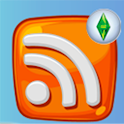 RSS Reader Sims logo