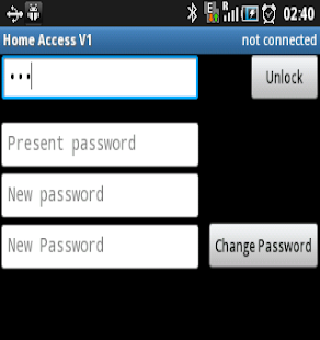 HomeAccessApp- screenshot thumbnail