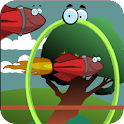 Hula Hoop VS Birds icon