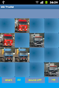 Trucks Hard Memory Game - screenshot thumbnail