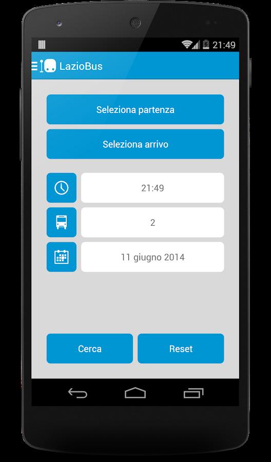 LazioBus Lite - screenshot
