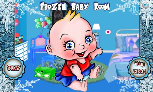 Frozen Princess Baby Room Game