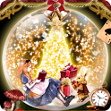 Alice in Christmas Wallpaper icon