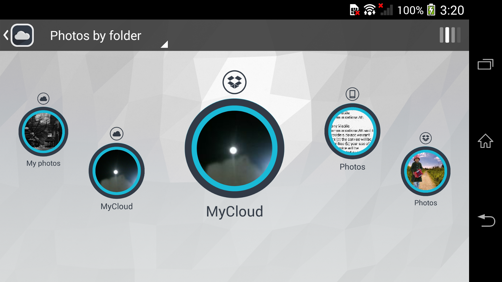 My Cloud - screenshot