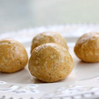 Healthy Peanut Butter Balls.