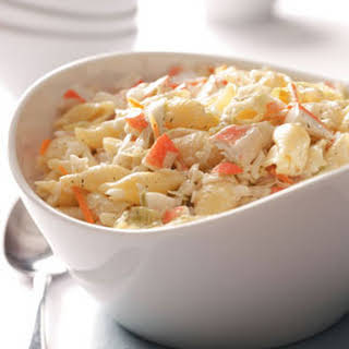 Favorite Crab Pasta Salad.