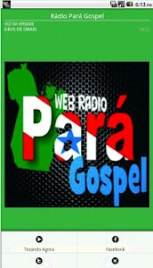 Rádio Pará Gospel screenshot 1