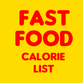 Fast Food Calorie List