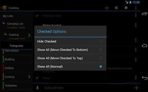 Ultimate Checklist - screenshot thumbnail