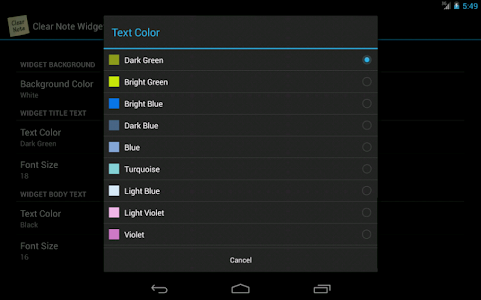 Clear Note Widget Sticky Notes screenshot 11