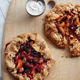 Plum Blackberry Galette