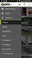 Screenshot of Gazeta Wrocławska
