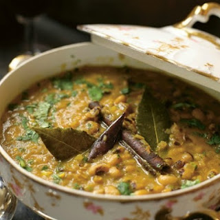 Suvir Saran's Black-Eyed Pea Curry.