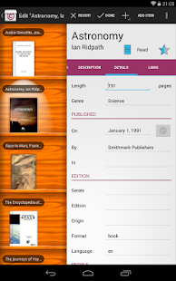 Collectionista manager - screenshot thumbnail