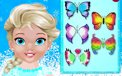 Baby Polly Butterfly Face Art