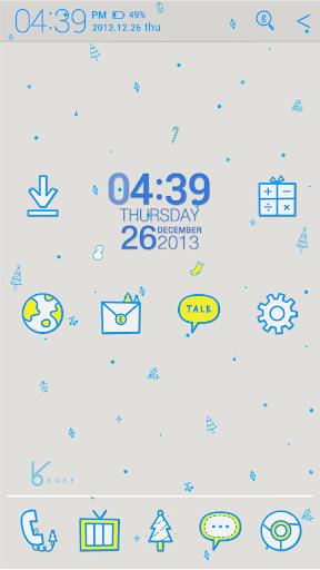 blue winter_ATOM theme
