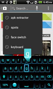 Fancy Neon Keyboard