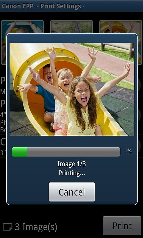 Canon Easy-PhotoPrint - screenshot