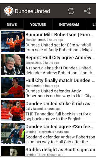 Dundee United Fan App