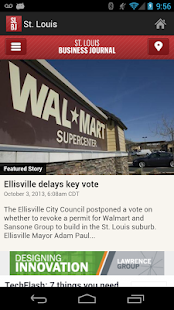The St. Louis Business Journal- screenshot thumbnail