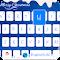 ChristmasBlue Theme-iKeyboard 2.2 Apk