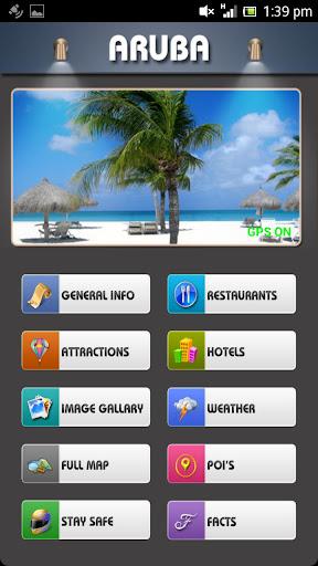Aruba Offline Map Travel Guide