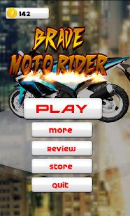 Brave Moto Rider- screenshot thumbnail
