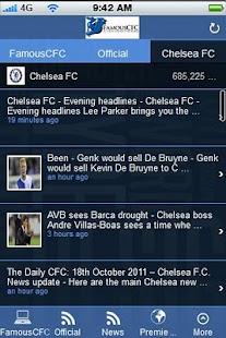 FamousCFC.com App - screenshot thumbnail