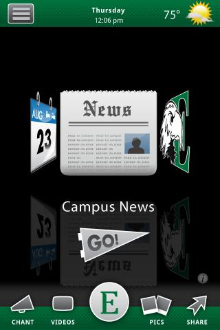 Eastern Michigan University- screenshot
