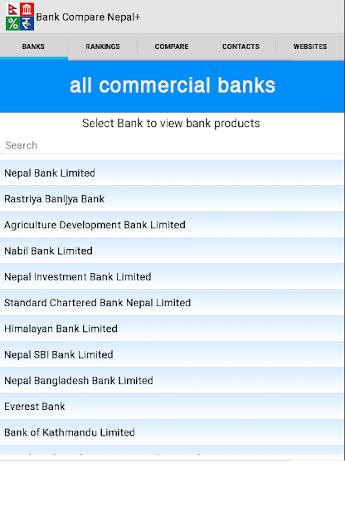 Bank Compare Nepal+