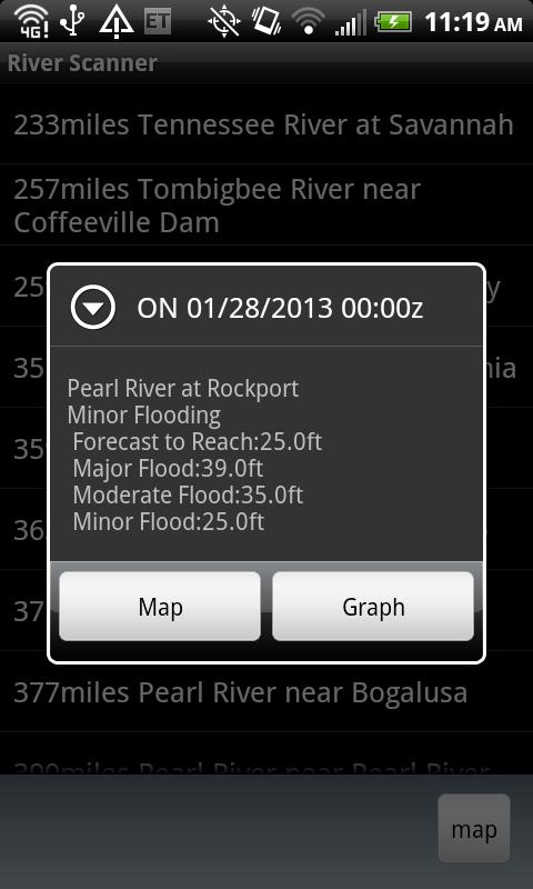 River Scanner - screenshot