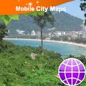 Phuket Street Map logo