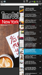 Time Out New York Magazine- screenshot thumbnail