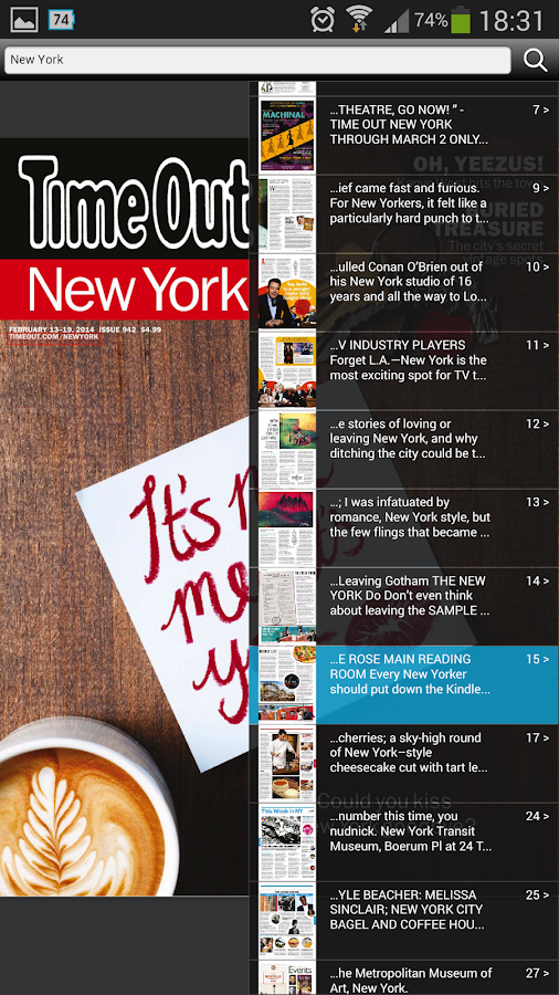 Time Out New York Magazine- screenshot